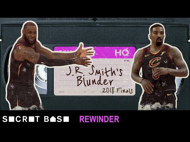 J.R. Smiths NBA Finals blunder deserves a deep rewind   Warriors vs Cavaliers 2018