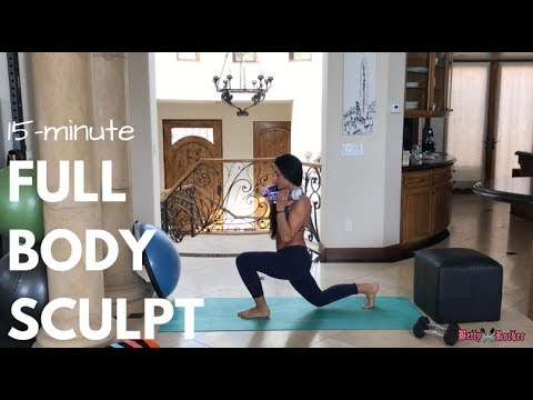 15 Minute Full Body Strength and Resistance Home Workout