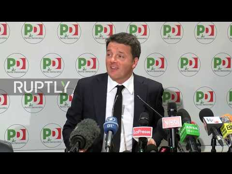 Italy: Former PM Matteo Renzi resigns after election defeat