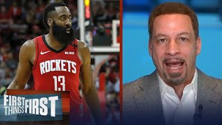 Philly 76ers on trade options: Simmons or Embiid for Harden — Broussard | NBA | FIRST THINGS FIRST
