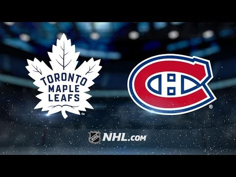 Toronto Maple Leafs Vs. Montreal Canadiens | NHL Game Recap | October 14, 2017 | HD
