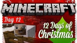 """CAROLING"" 12 Days of Christmas Minecraft Special - DAY 12"