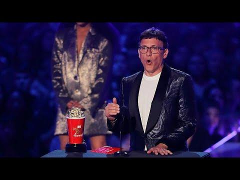 (أفنجرز: إند جيم) الفائز الأكبر بجوائز إم.تي.في للسينما والتلفزيون…  - 15:53-2019 / 6 / 18