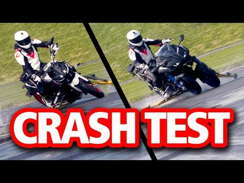 CRASH TEST: Yamaha Niken Vs MT-09   Is There More Grip?