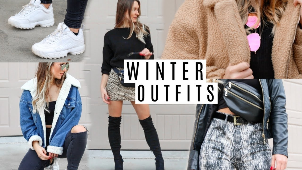 Outfit ideas for Winter 2018/2019 (trendy + affordable)