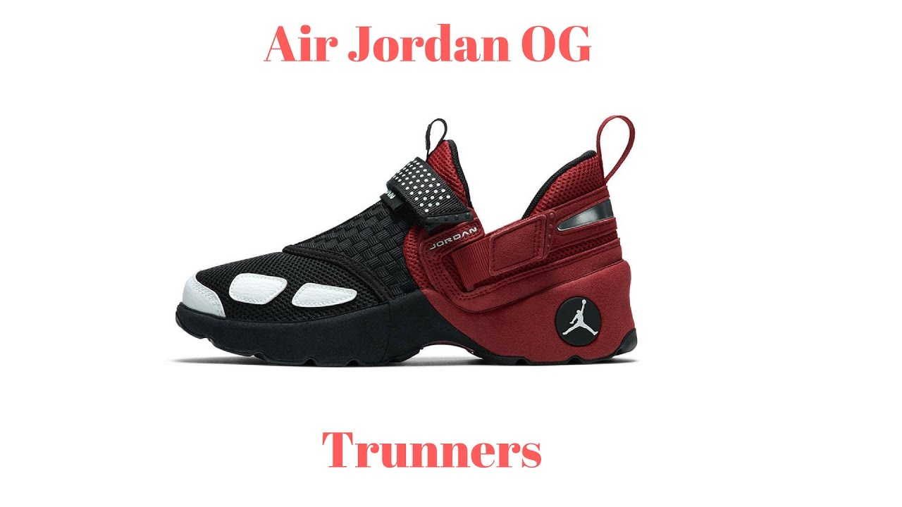 2bfa540e5d8d Air Jordan OG Trunner LX On Foot Review - YouTube