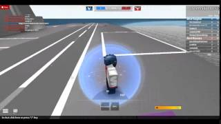 Fast jet plane on roblox