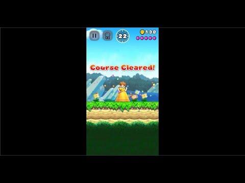 Super Mario Run Playthrough Part 13 (EXTRA #6 - Princess Daisy Unlocked!)