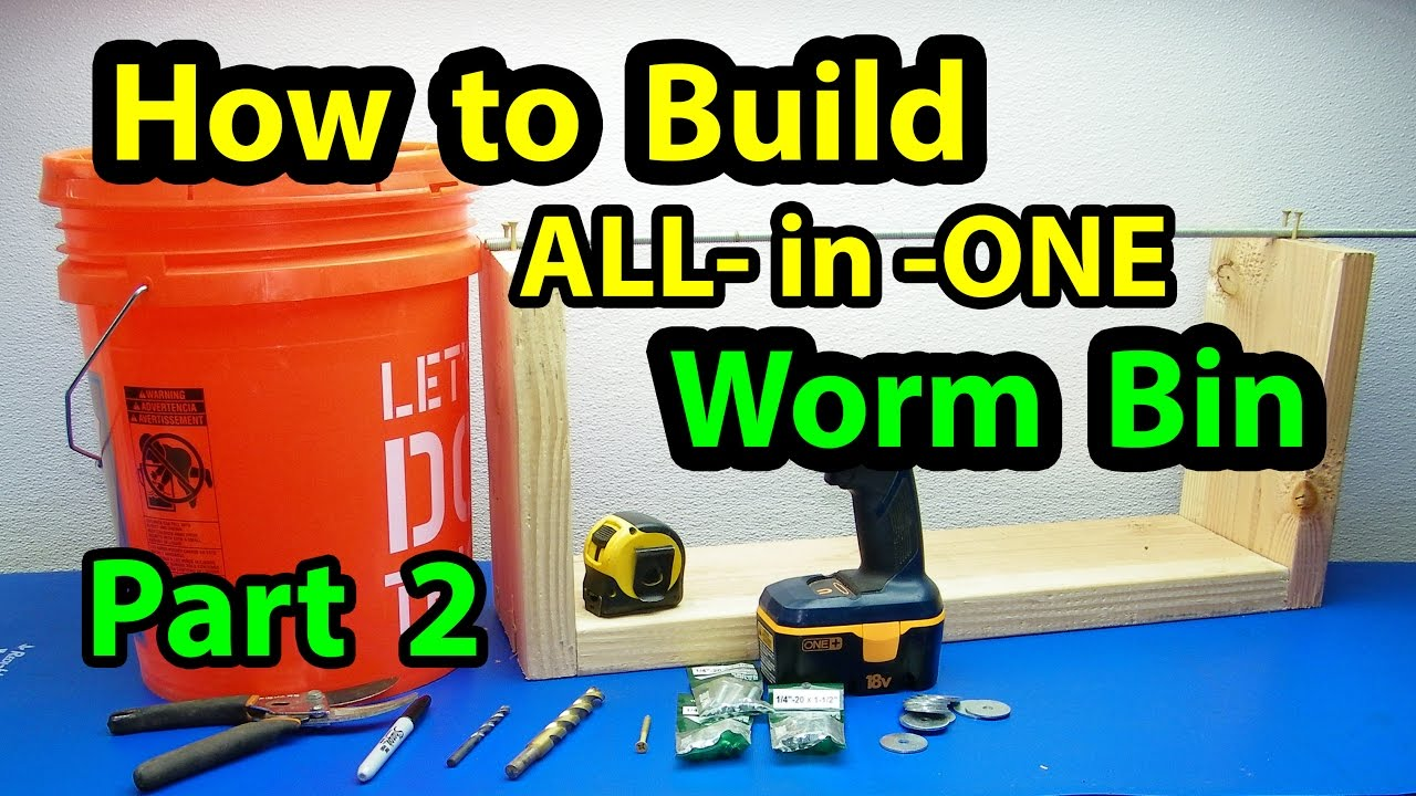 how to make worm castings