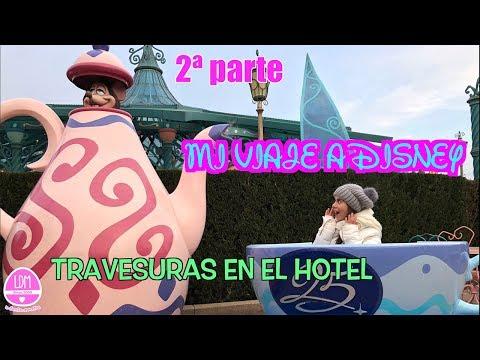 TRAVESURAS EN EL HOTEL DE DISNEY🤪 DISNEY 2ª PARTE🎢 LA DIVERSION DE MARTINA