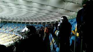 Dynamo Kiev   Besiktas  06 12 2016  Besiktas fans violence in Kiev at NSC Olympiyskiy