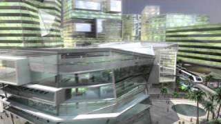 the new financial city of riyadh kingdom of saudi arabia