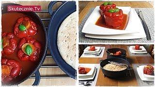 Faszerowane papryki z prostym domowym chlebem :: Skutecznie.Tv