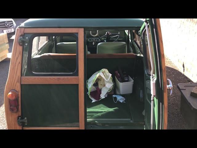 Lot 27 1965 Austin Mini Countryman