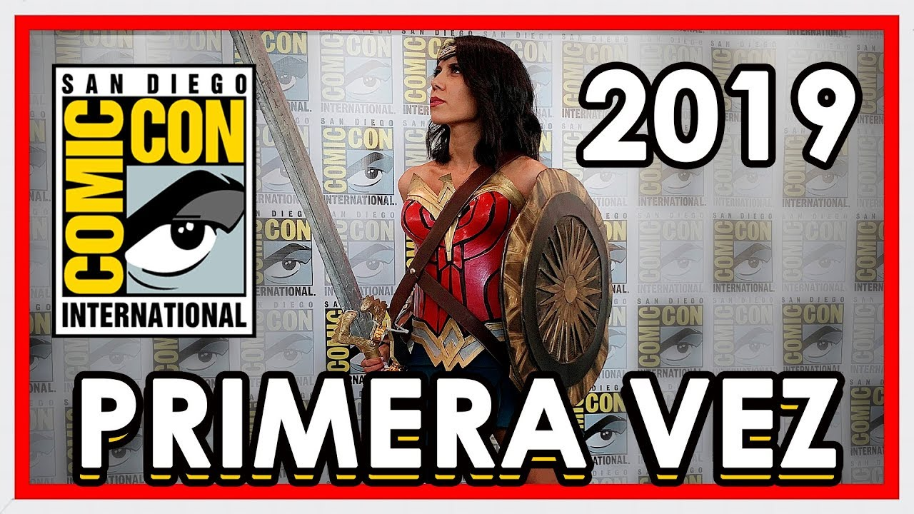 VLOG: COMIC CON 2019 ¡Mi PRIMERA VEZ!