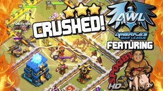 Town Hall 12 CRUSHED ⭐ Top AWL Attacks with SpoobyHD | Clash of Clans