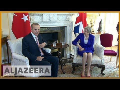 🇹🇷 🇬🇧 Turkish President Erdogan's UK visit met with protests | Al Jazeera English