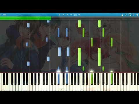 [Synthesia] Shikata Akiko - Akatsuki (Piano) (Ending 2) [Akatsuki no Yona]