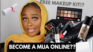 HOW TO BECOME A CERTIFIED MUA ONLINE   ONLINE MAKEUP ACADEMY REVIEW/ UNBOXING   YASMINE SIMONE