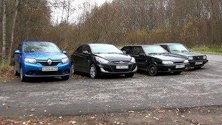 HYUNDAI против VW, OPEL и ВАЗ