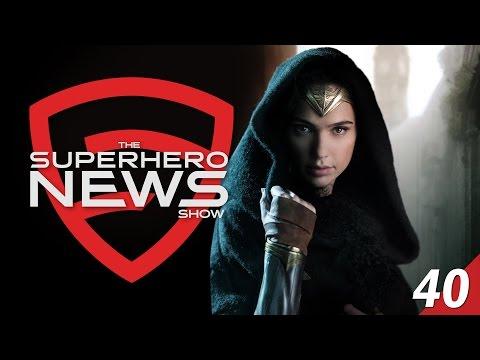 Superhero News #40: Wonder Woman Begins Production and Happy 20K!