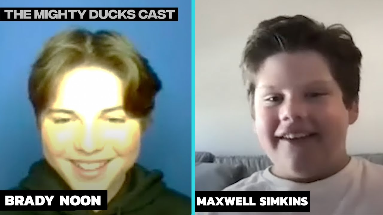 Mighty Ducks: Game Changers Brady Noon & Maxwell Simkins TALK Working w/ Olivia Rodrigo! | Hollywire