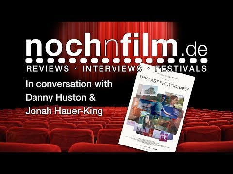 Interview | Danny Huston & Jonah Hauer-King | The Last Photograph | EIFF 2017