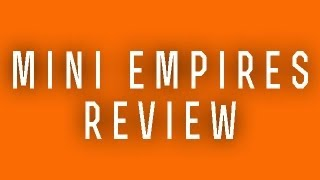 Mini Empires Plus Review - iPhone and iPod