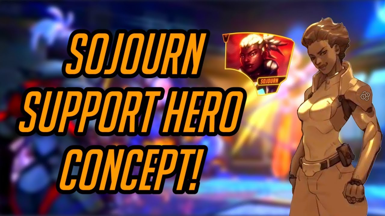Download Overwatch | Sojourn Support Hero Concept! | Mobility Brawler Support Build - Possible Abilities!