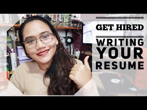 How to Write Your Resume – Get Hired
