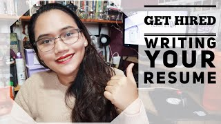 How to Write Your Resume - Get Hired