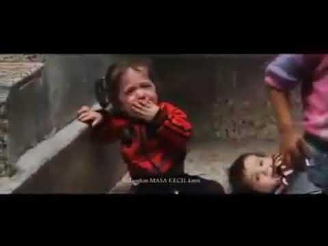 orang muslim wajib menonton tangisan anak-anak Palestina