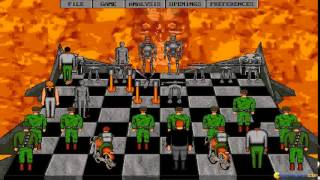 Terminator 2: Judgment Day - Chess Wars gameplay (PC Game, 1993)