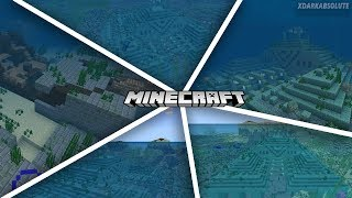 UNDERWATER STRONGHOLD & 4 OCEAN MONUMENTS SEED!! - Minecraft PE (Bedrock Edition)