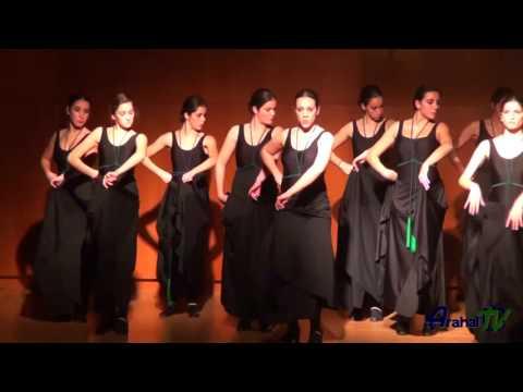 Callejuela de la O bailada Flamenco - Escuela de música y danza - Arahal 26/02/2014