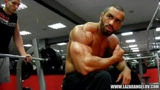 Lazar Angelov Chest Workout Video 2013