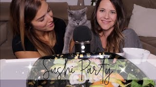 ASMR Sushi Party im Dialekt + Schnurrende🐱 | ASMR Deutsch/German