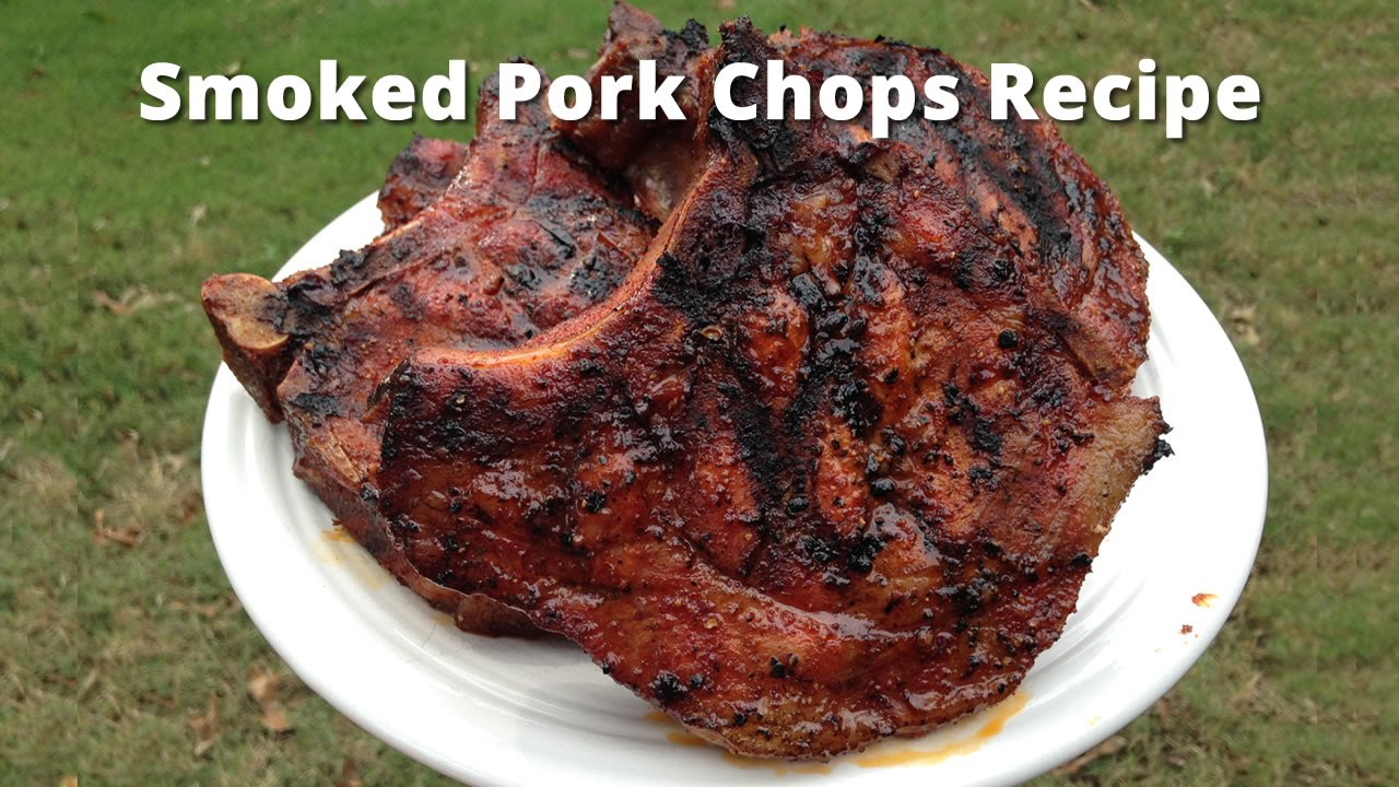 Smoked Pork Chops Recipe  How To Smoke Pork Chops Malcom Reed  Howtobbqright  Youtube
