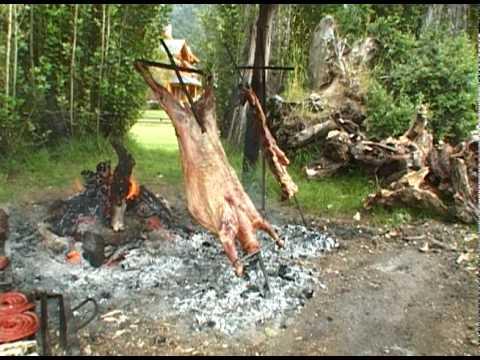 How to Grill Patagonian Lamb al Asador