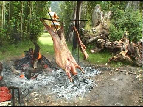 How To Grill Patagonian Lamb Al Asador Youtube