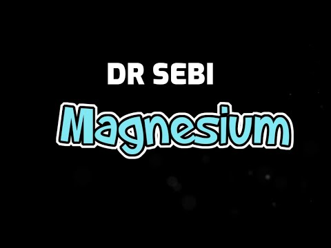 DR SEBI - VALUE OF MAGNESIUM (Central Nerve System & Bones)
