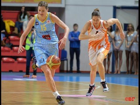 BC UMMC vs USK Prague. 2014-2015 EuroLeague Women