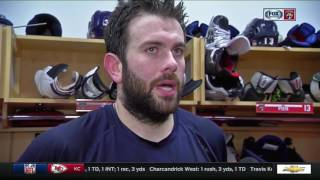 Keith Yandle - Florida Panthers vs. Pittsburgh Penguins postgame