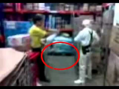 EXCLUSIVE: Alien caught on cell phone in warehouse by manager in Peru