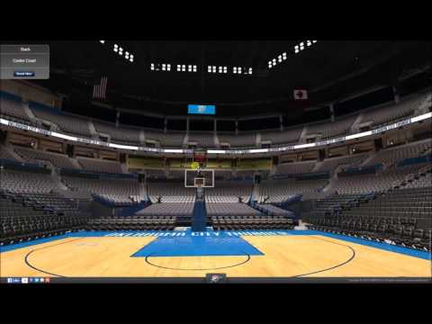 VirtualStadiumTour (NBA) - Chesapeake Energy Arena (Oklahoma City Thunder)
