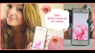 TAG : Everything on my phone :) Thumbnail