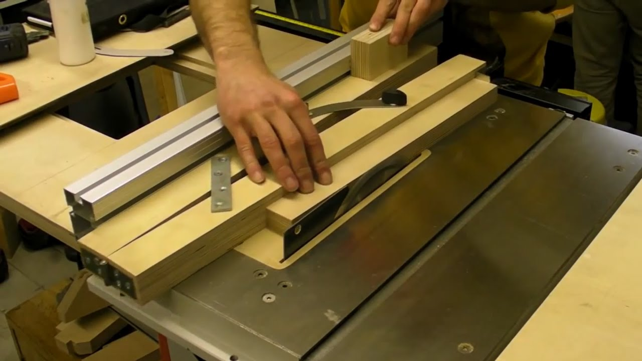 Taper Cutting Jig For Table & Band Saws - YouTube