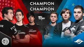 Champion vs Champion - TSM vs Team Secret - Match 2