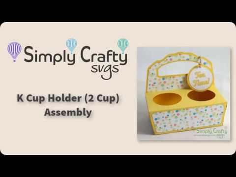 K Cup Holder (2 Cup) Assembly