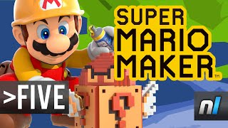 Five Creative Things You Can Do in Super Mario Maker